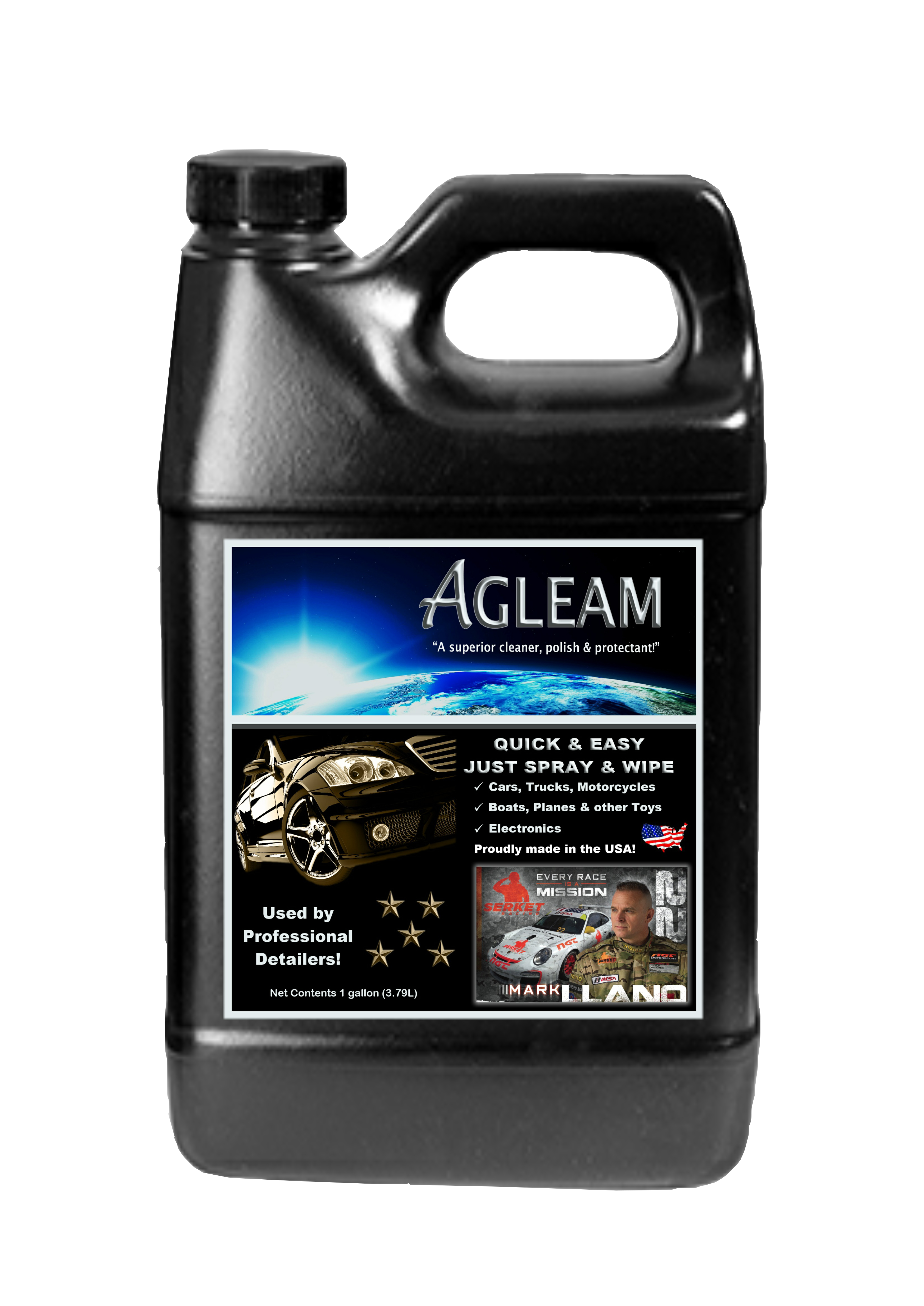 Agleam 1 Gallon Ready-To-Use