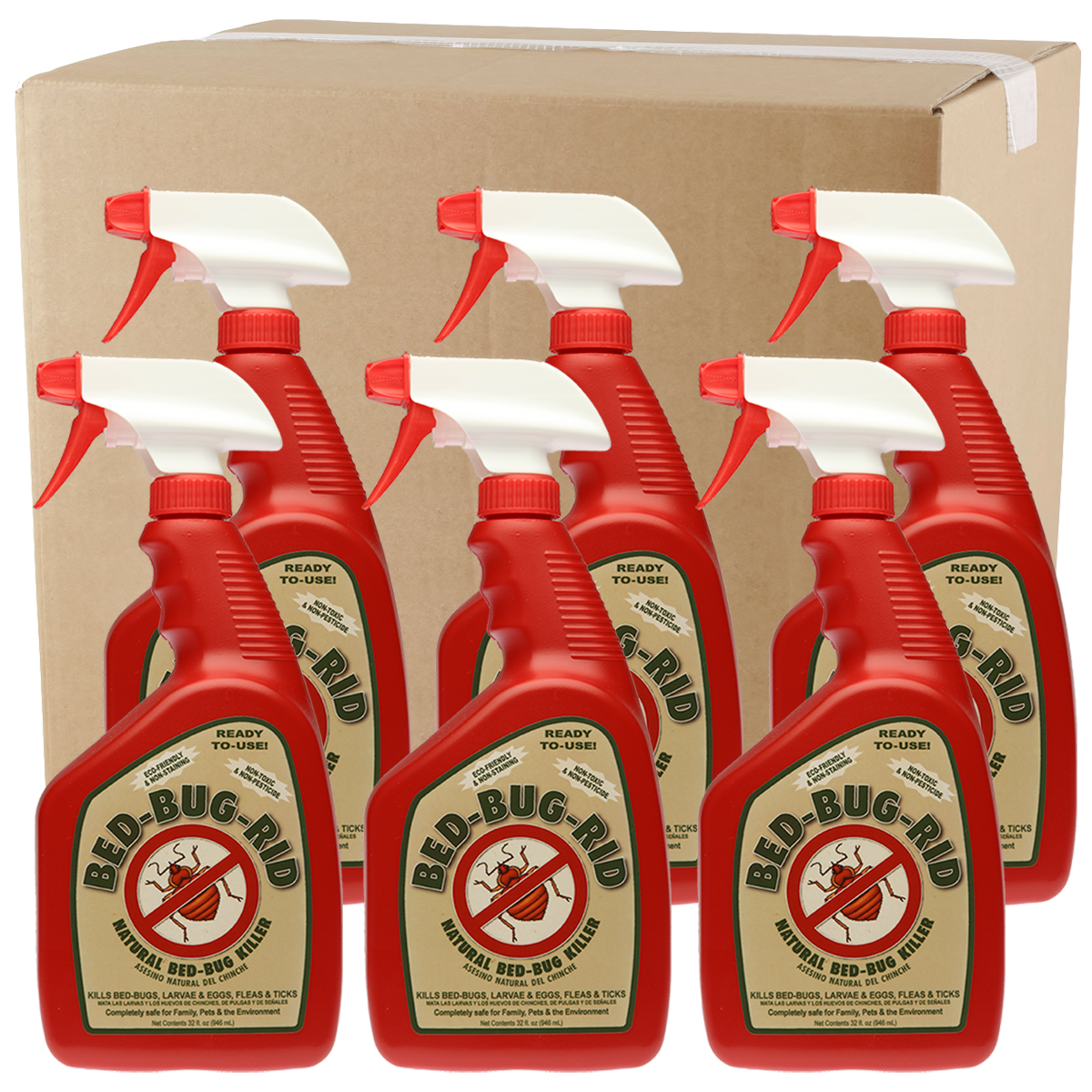 Wholesale Bed-Bug-Rid 32oz Spray Case