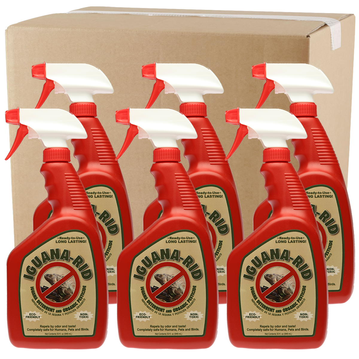 Wholesale Iguana-Rid 32oz Spray Case