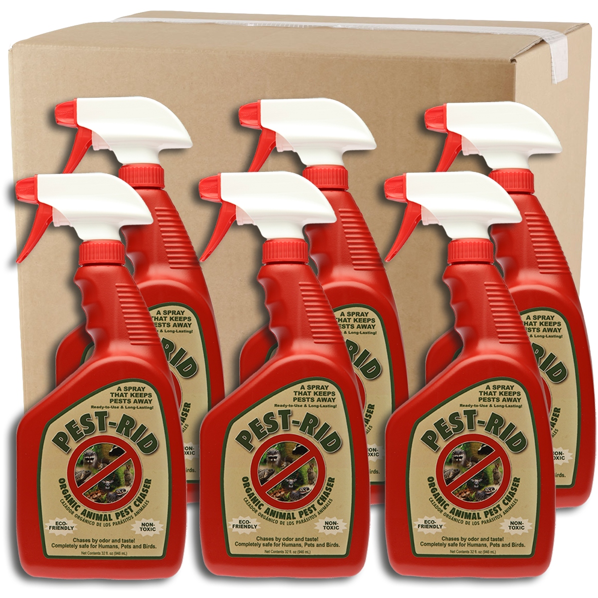 Wholesale Pest-Rid 32oz Spray Case