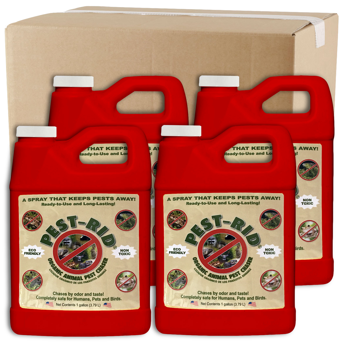 Wholesale Pest-Rid 1 Gallon Case